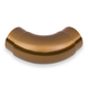 Curved Flush Elbow Fitting 90 Degree - Sunset Copper -2