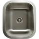Houzer Undermount Small Wet Bar & Prep Sink