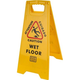 Caution Wet Floor 2-Sided Safety Sign