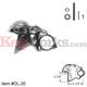 DL-20 Lion Arm Rail Bracket - Satin Chrome