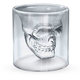 Doomed Crystal Skull Shot Glass - 2.5 oz