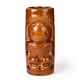 Hawaiian Ku Brown Ceramic Tiki Mug - 12 oz