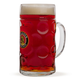Paulaner Dimpled Isar Beer Mug - 1 Liter