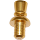 Top Hat Finial For Beer Tap Handle - Brass Colored