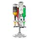 LED Rotary Liquor Dispenser - Holds 4 Bottles