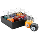 Pool Shots Billiard Ball Shot Glasses - Set of 9 with Serving Tray