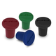 Silicone Bottle Stoppers - Pack of 4