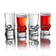 Brainfreeze Skull Shot Glass Set - 1.5 oz - Pack of 4