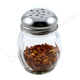 Grated Cheese or Red Pepper Glass Shaker
