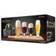 Final Touch Mini Beer Tasting Glasses & Serving Paddle Set - 6 Pieces
