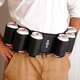 Personalized Beer Can Belt - Holds 6 Cans