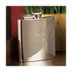 Personalized Polished Stainless Steel Flask - 7 oz