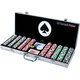 Deluxe 500 Poker Chip Set with Aluminum Case