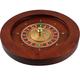 Wooden Roulette Wheel - 19.5