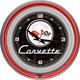Corvette Neon Wall Clock