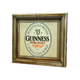 Guinness Cabinet Dart Board with Raised 3-D Lettering
