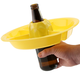 The Go Plate 10 Pack - Yellow - Reusable Food & Beverage Holder