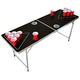 GoPong Portable Beer Pong Table - 6 ft - Black