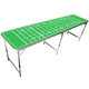 GoPong Portable Football Field Tailgating & Beer Pong Table - 8 ft