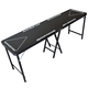GoPong PRO Portable Beer Pong Table - 8 ft - Black