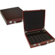 Poker Chip Case with Cigar Tray - 300 Chip Capacity