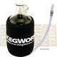 KegWorks Glass Beer Growler Essentials Kit