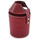 Beer Growler Holder - Mahogany Leather