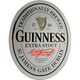 Guinness Label Oval Bar Mirror