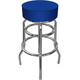 High Grade Blue Padded Bar Stool