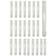 Clear Plastic Shooter Tubes - 6