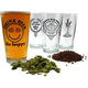 Hopspeak Beer Pint Glass Collection - Set of 4
