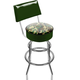 Camouflage Padded Swivel Bar Stool with Back