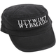 IITYWIMWYBMAD? Patrol Cap - Castro Hat with Embroidered Logo - Black
