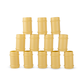Plastic Bamboo Shot Cups - 2 oz - Pack of 12