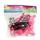 Pink Flamingo Tiki Party Lights - 8 ft String
