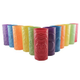 Plastic Tiki Cups - Assorted Colors - 24 oz - Set of 12