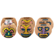 Tiki Coconut Can Holders - Made with Real Coconuts - Set of 6