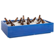 Countertop Beverage Chiller - 48 Quarts - Blue