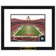 Kansas City Chiefs NFL Framed Double Matted Stadium Print