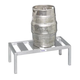 2 Keg Beer Storage Rack
