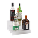 12-inch 3 Tier Liquor Bottle Shelf - Translucent