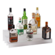 24-inch 3 Tier Liquor Bottle Shelf - Translucent