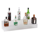 34-inch 2 Tier Liquor Bottle Shelf - Translucent
