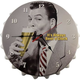 It's Always Beer O'Clock Metal Bottle Cap Wall Clock