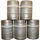 Metal Beer Kegs Wall Decal