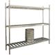 Aluminum Beer Keg Storage Rack - 3 Shelf Unit