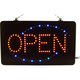 OPEN Business Sign with Flashing LED's