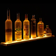 LED Lighted Liquor Bottle Display Rail