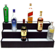 3 Tier Lighted Liquor Bottle Display Shelf