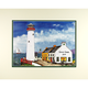 Lighthouse Pub Personalized Double Matted Print